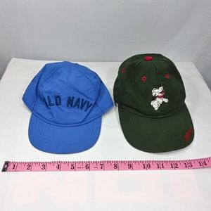 Boy Walt Disney & Old Navy Baseball Caps 4 Toddler